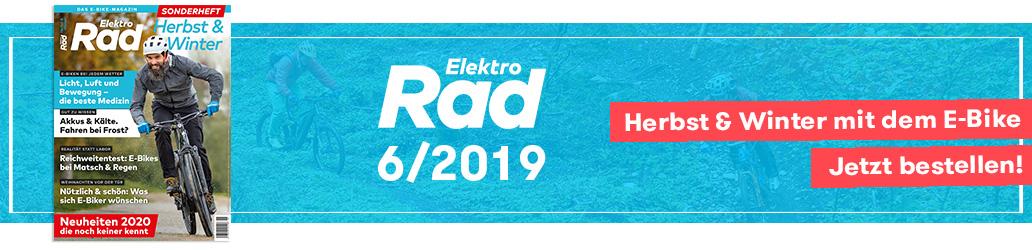 Banner, ElektroRad 6/2019, Sonderheft, Herbst & Winter