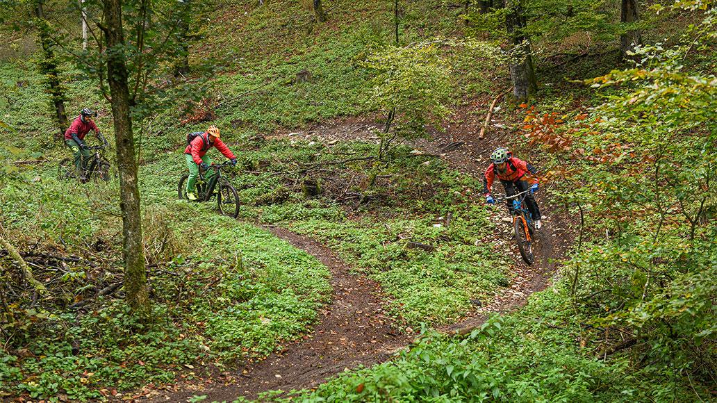Reichweiten-Test, Action, Mountainbike, E-Bike-Akkus
