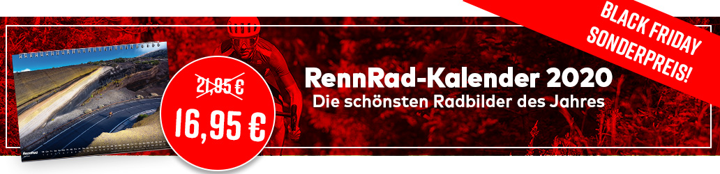 RennRad-Kalender 2020, Black Friday