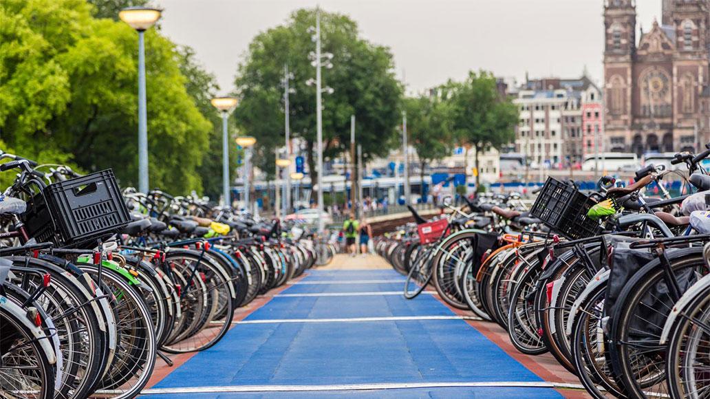 Fahrradstädte, Amsterdam