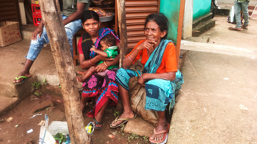 Indien, Menschen, Radreise