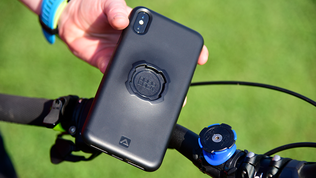 Quad Lock bietet zuverlässige Handy-Halterungen.