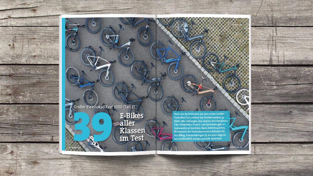 E-Bike-Test, ElektroRad 2/2020, Großer ElektroRad-Test, ElektroRad 2/2020
