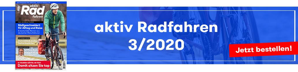 aktiv Radfahren 3/2020, Banner