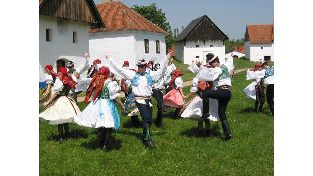 Folklore, Strážnice, Mähren, Reise