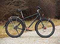Rennstahl 853 Pinion: Reiserad im Test – Trekkingrad, Ausstattung