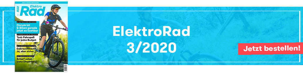 ElektroRad 3/2020, Banner, Ausgabe