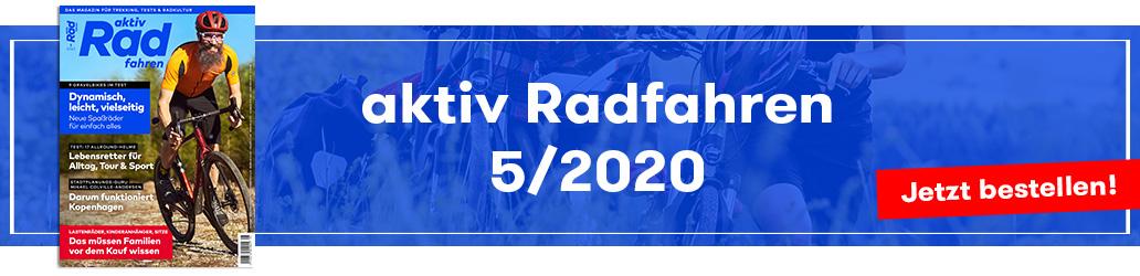 Banner, aktiv Radfahren 5/2020