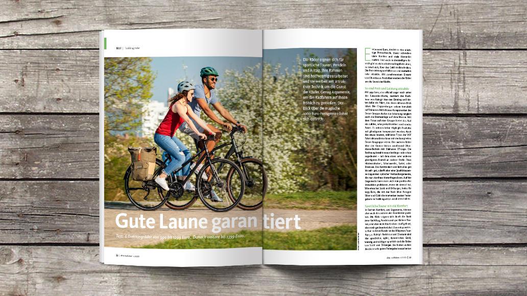 Test: Trekkingbikes bis 1399 Euro