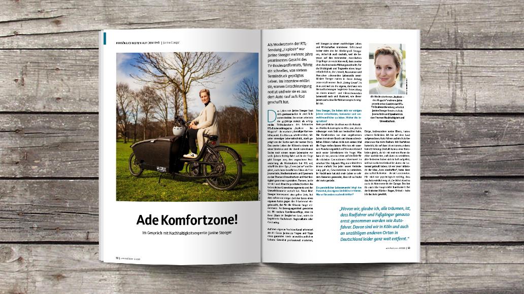 Janine Steeger im Interview