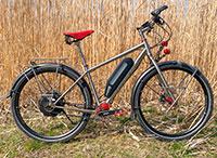 Falkenjagd Hoplit PI E-Reiserad: E-Bike im Test – Antrieb, Ausstattung
