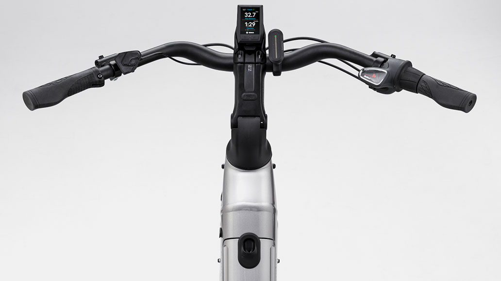 Zahlreiche Features bietet das Bosch Kiox Display