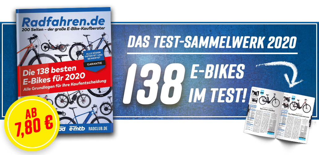Radfahren.de - E-Bike-Kaufberater, Banner, Sonderheft