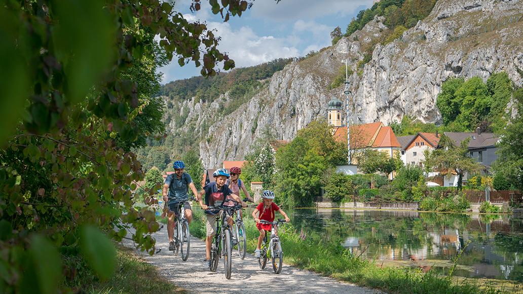 Sommerurlaub, Fahrrad, Lesereise
