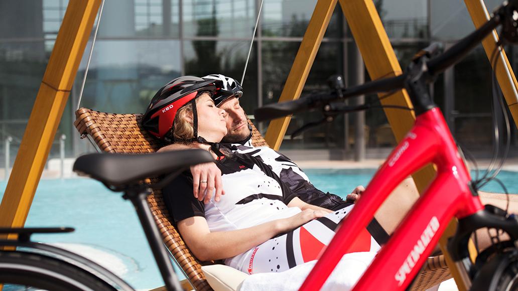 Sommerurlaub, Lesereise, Fahrrad