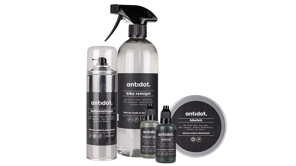 antidot bikecare, antidot, Produktpalette
