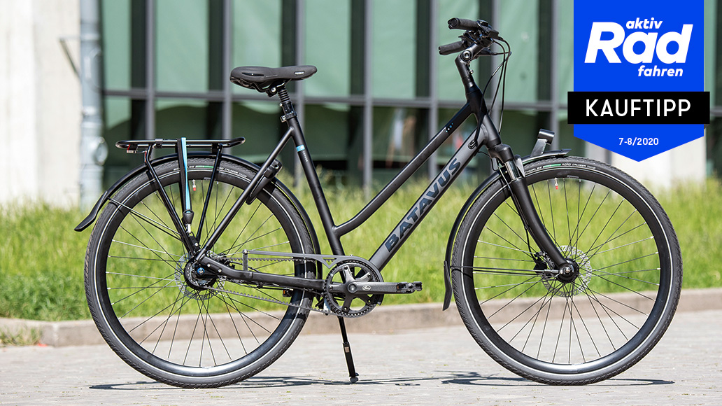 Batavus Comodo, Test, Stadträder, Urbanbikes