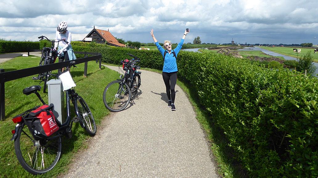 Niederlande, Boat Bike Tours
