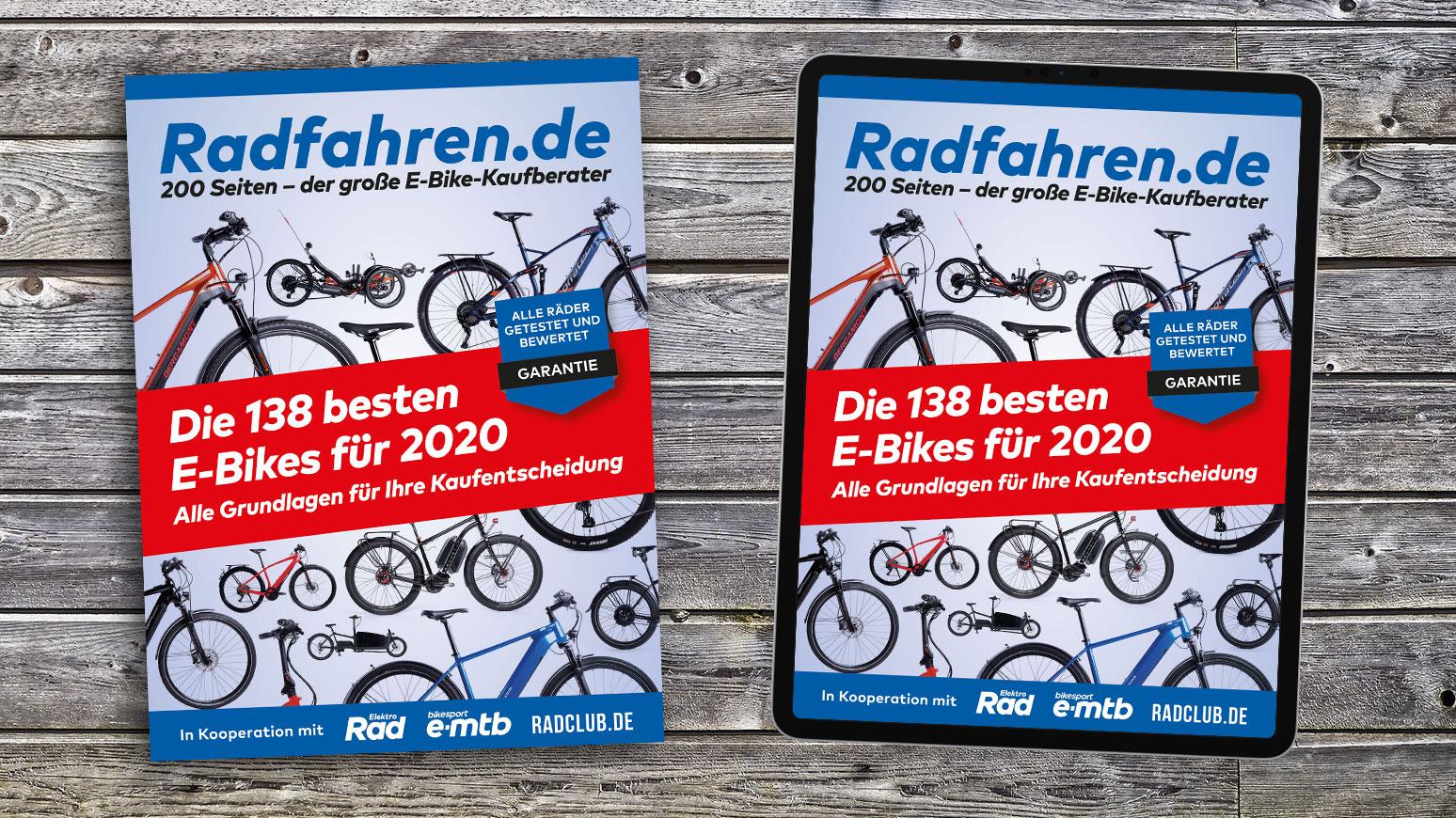 E-Bike-Kaufberater, Test, Sonderausgabe, E-Bike-Test