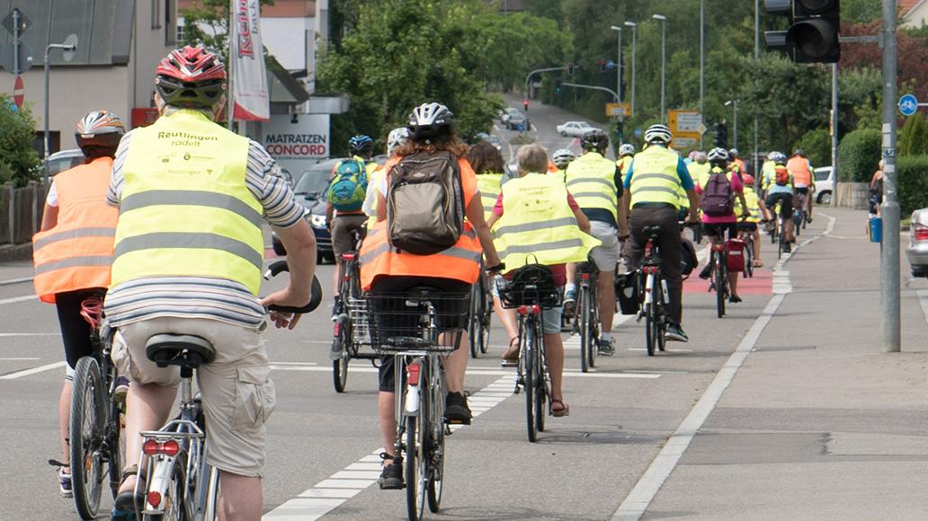 Verkehrswende, Task Force, Radfahren, Reutlingen