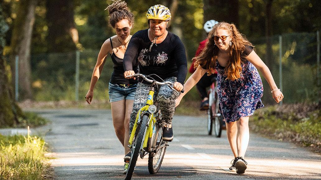 Bike Bridge, Fahrradfahren, Geflüchtete, Integration, Mobilität, Radfahren
