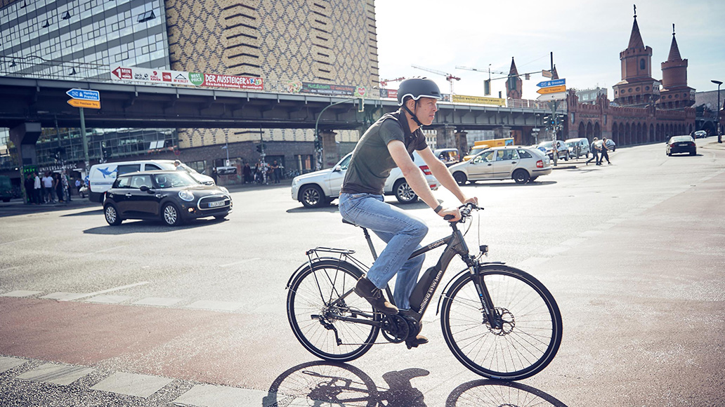 E-Bike, Elektrorad, Fahrradfahren, Studie