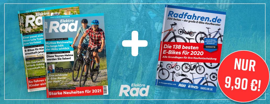 Abo-Aktion, E-Bike Test 2020, E-Bike-Test, Kaufberatung, Abo-Aktion, Banner