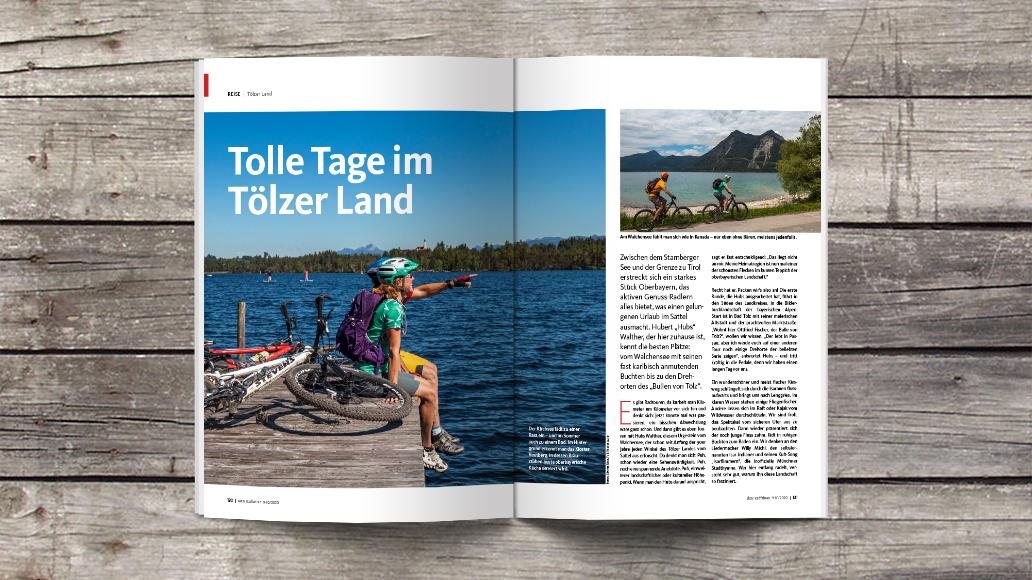 aktiv Radfahren 9-10/2020, Heftinhalt