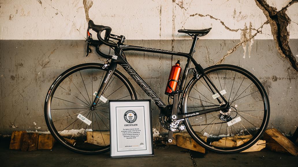 E-Bike, ElektroRad, Guinness World Records, Rekord, TU Dortmund, Weltrekord