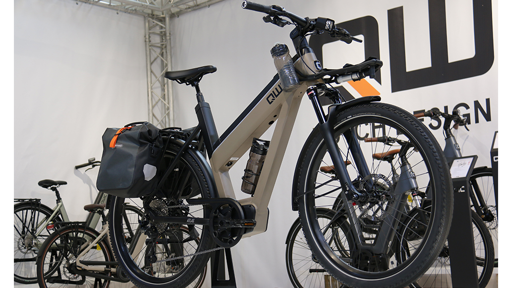 Qwic, Reiserad, E-Bike