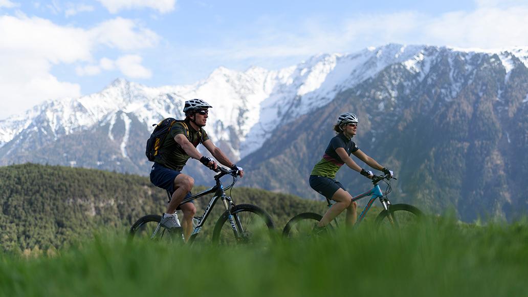 DAV, Deutscher Alpenverein, Radfahren, Berge, Wanderer