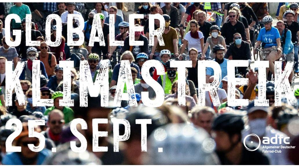 ADFC, Fridays for Future, Klimastreik, Radfahren