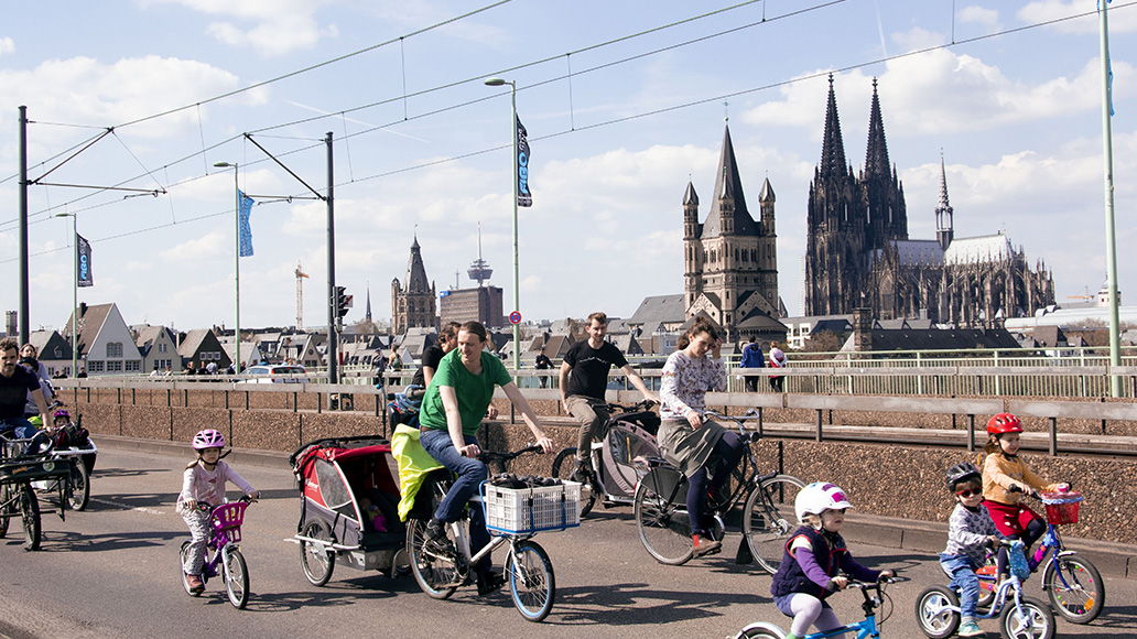 ADFC, Kidical Mass, Radfahren, Fahrrad, Familiendemo
