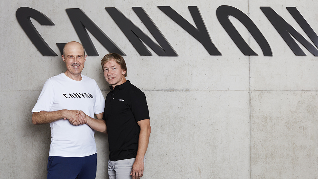 Canyon, Roman Arnold, Armin Landgraf, CEO, Radfahren, Fahrrad, E-Bike