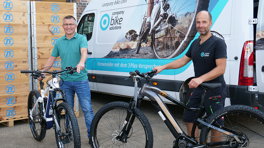ZF, Company Bike, Dienstfahrrad, Radfahren
