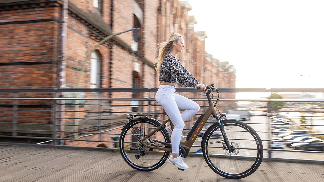 Hartje, Brennabor, E-Bike, Radfahren