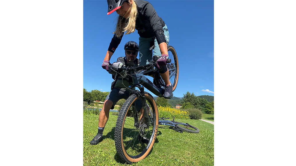 Mike Kluge, E-Bike, Fahrsicherheit, Cyclocross