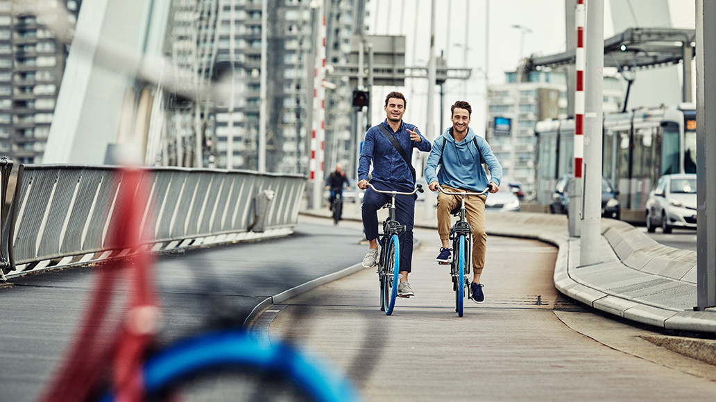Swapfiets, E-Bike, Fahrrad-Abo, Radfahren