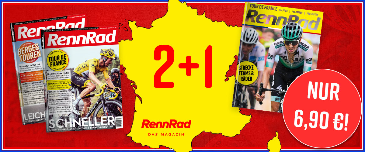 Tour de France, RennRad, Banner