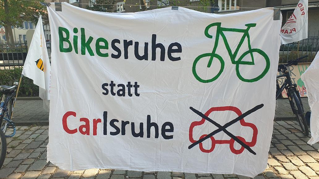 ADFC, Fahrradklima-Test, Critical Mass, Karlsruhe