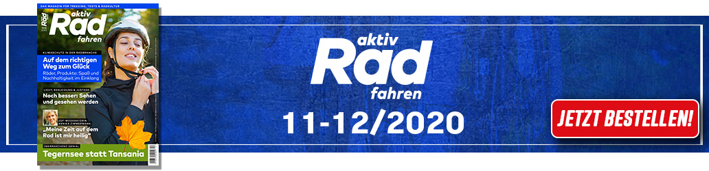aktiv Radfahren 11-12/2020, Heftinhalt, Inhalt, Ausgabe