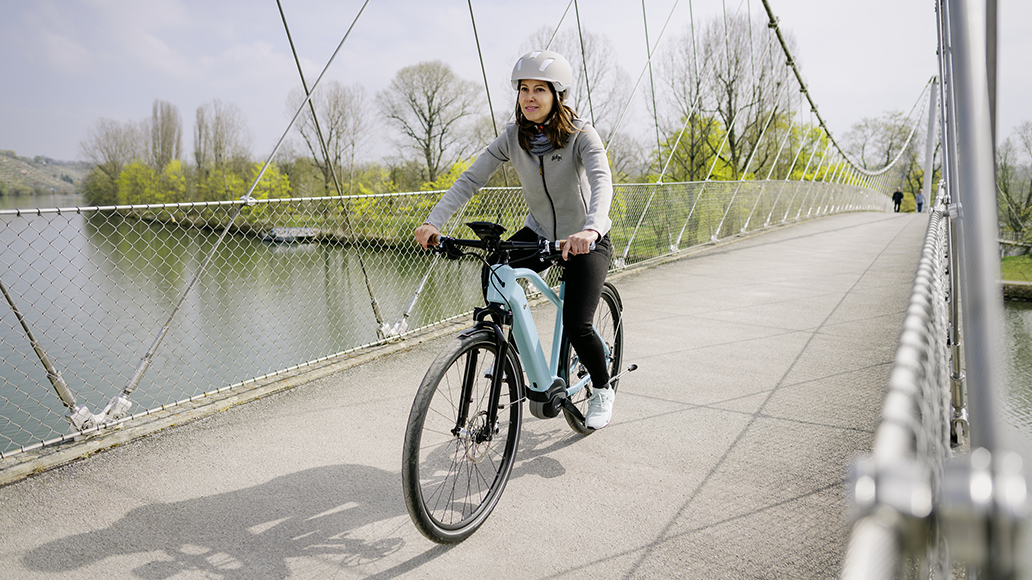 Bosch, E-Bike, Notallhilfe, Radfahren