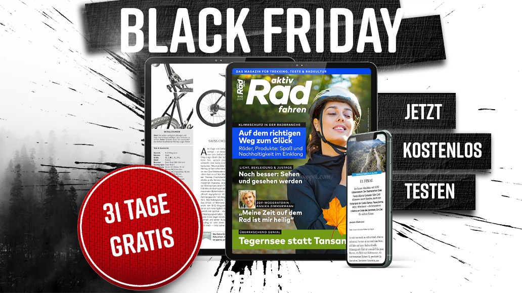 aktiv Radfahren, Aktion, Black Friday