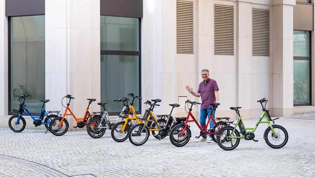 i:SY, Kompaktrad, Radfahren