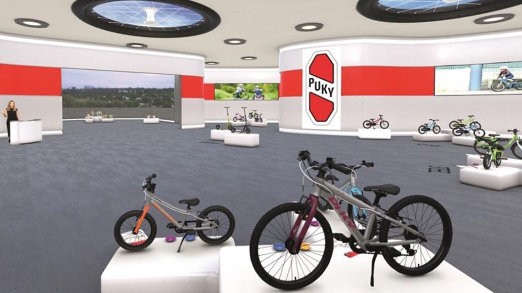 Puky, Kinderfahrrad, Radfahren, Showroom