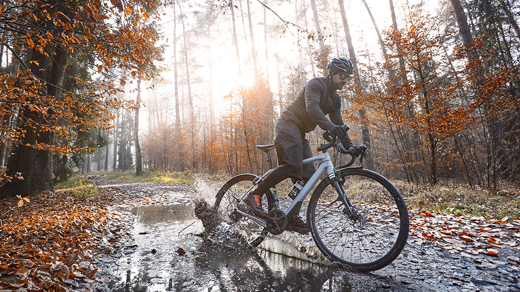 Schutzbleche, Radfahren, E-Bike, Herbst