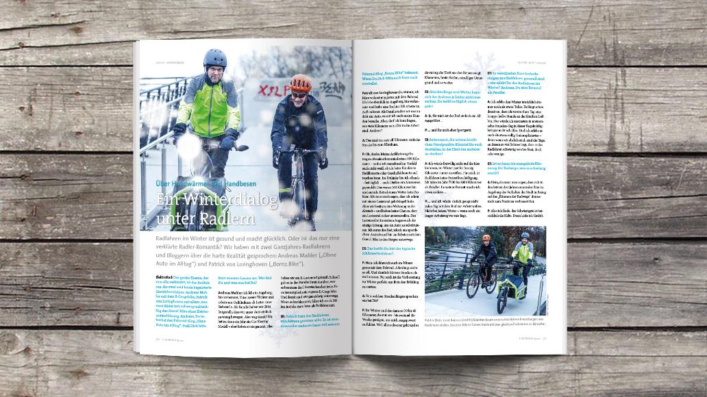 Radfahren im Winter: So gelingt's.