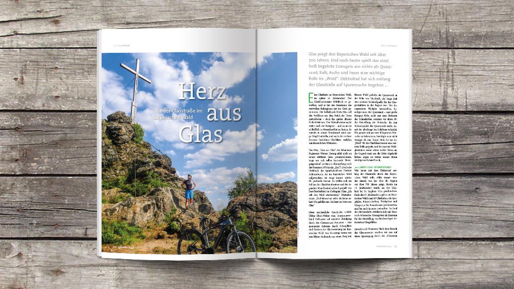 Touren-Juwel: Die Glasstraße im Bayerischen Wald.