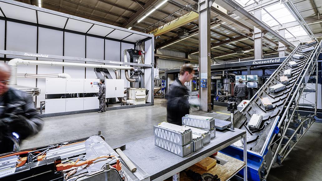 Duesenfeld setzt das hydrometallurgische Verfahren auf Projektebene ein.