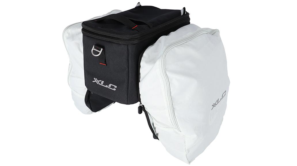 XLC, Gepäckträger, Tasche, Fahrrad, E-Bike